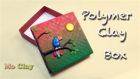 How To Decorate A Box by How To Decorate A Box Diy Polymer Clay Tutorial