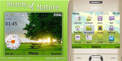 nokia x2 nature themes beauty of nature theme for nokia c3 x2 01 themereflex