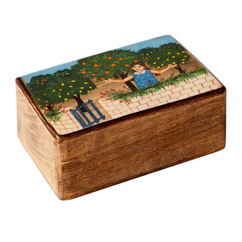 Decorative Boxes For by In The Garden Decorative Wooden Box M