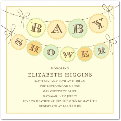 Exemple Lettre D Invitation Shower Modele Lettre Invitation Shower Bebe