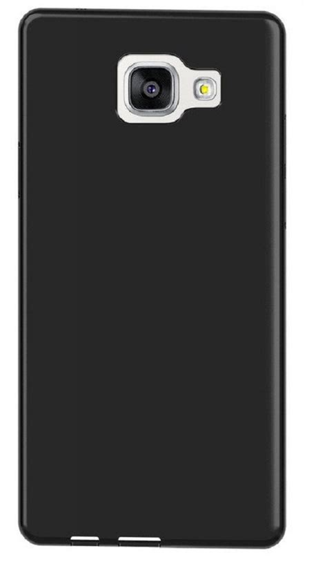 Softcase Balck Matte Samsung Galaxy A5 2016 buy samsung galaxy a5 2016 a510 black back cover premium