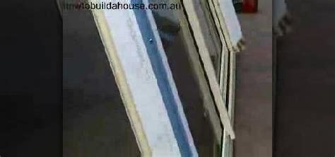 how to replace a window in a house how to install a window in a metal frame 171 construction