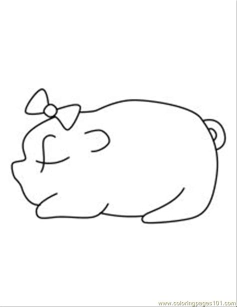 free coloring pages of pigsty