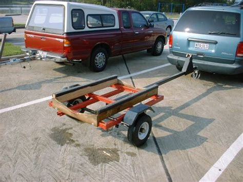 small wooden boat trailer harbor freight bolt together kit trailers