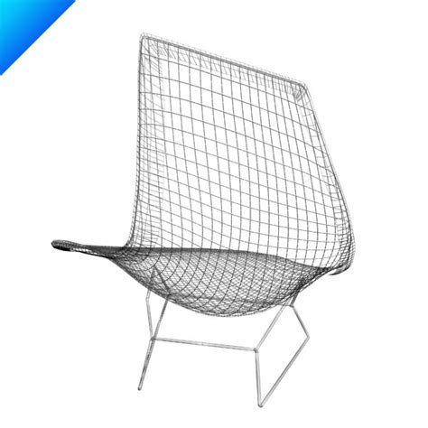 bertoia chaise 3d bertoia asymmetric chaise knoll furniture