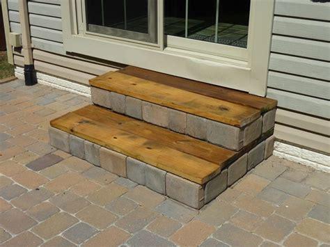 stunning professional patio  stairs bricks