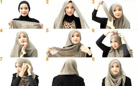 tutorial hijab yang sederhana info tutorial hijab modern sederhana terbaru paling lengkap