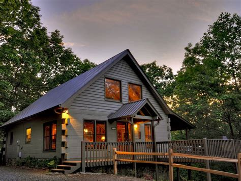 5 Cabin Rentals by Lake View Cabin Rental In Blue Ridge Vrbo