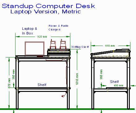 standing desk plans lowes how to build standing desk construction pdf plans