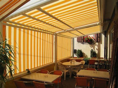 tende per verande chiuse tenda veranda