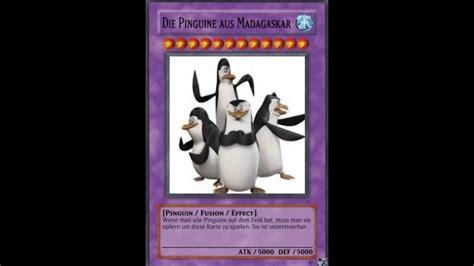 Yugioh Karten Die Pinguine Aus Madagascar