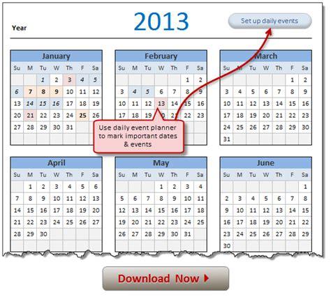 2018 excel calendar planner how to make calendar in excel 2017