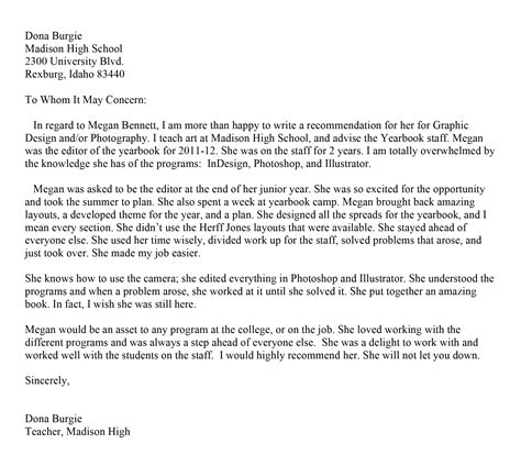 Letter Of Recommendation Word Count best photos of microsoft letter of recommendation