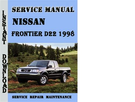 service manual service and repair manuals 1998 nissan frontier regenerative braking service