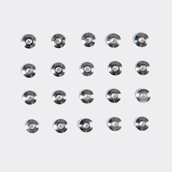 15160 Tamiya Mini4wd 19mm Aluminum Bearing Roller tamiya 94768 jr bearing roller spacer 20pcs