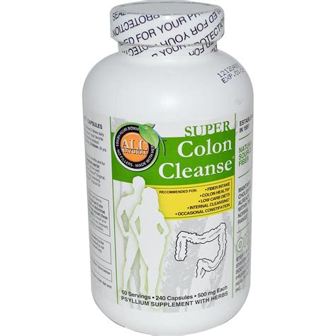 health plus inc colon cleanse 500 mg 240 capsules iherb