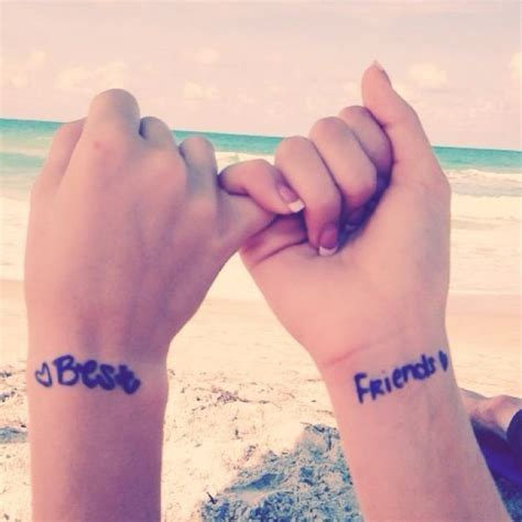 wrist tattoos for best friends 32 best friend tattoos to get styleoholic