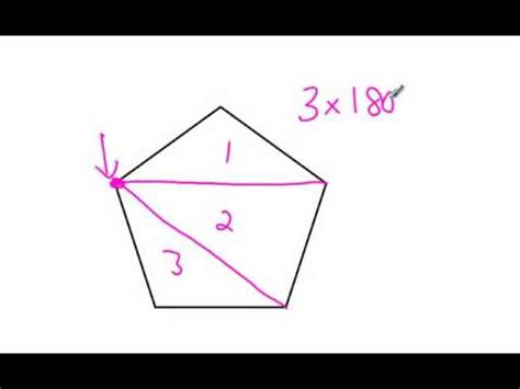 How To Work Out The Interior Angle by How To Find The Sum Of Interior Angles Of A Polygon