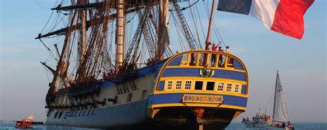 hermione bateau visite la fr 233 gate hermione en escale 224 toulon tv83