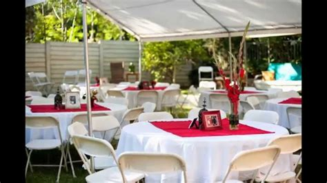 small home wedding decoration ideas back yard weddings on a budget cheap backyard wedding