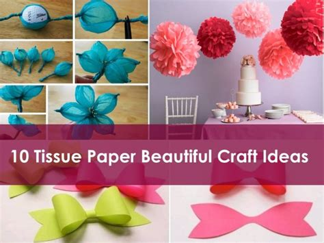 Tissue Paper Craft Ideas For - 10 easy popsicle stick crafts ideas k4 craft