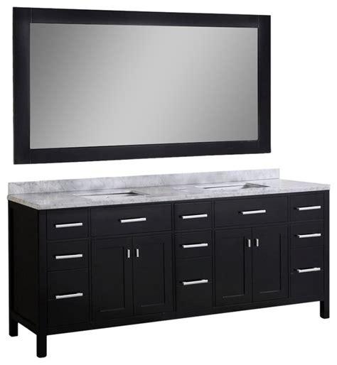 78 bathroom vanity cabinet 78 quot sink vanity set contemporary bathroom vanities and sink consoles by