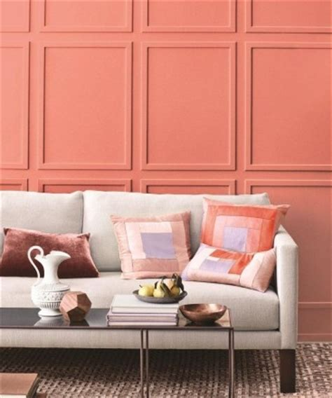 martha stewart living rooms amp up your living room color palette with springy salmon