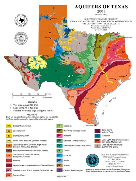 texas aquifer map aquifers of texas map