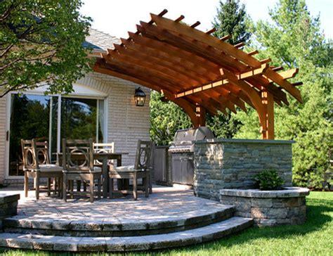 Backyard Lattice Structures by Outdoor Kitchen Pergolas Traditional Patio Boston