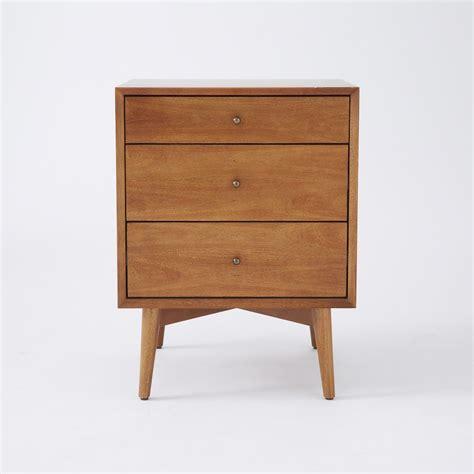 3 drawer side table mid century 3 drawer side tables acorn elm australia