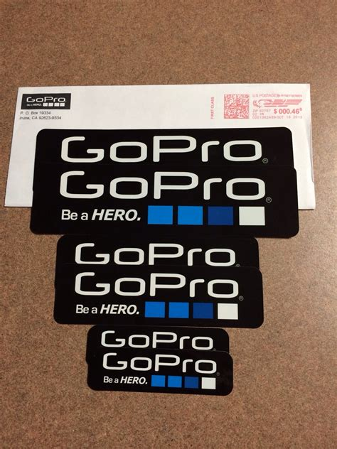 Gopro Aufkleber Gratis by Thanks Gopro All It Takes Is An Email Gopro