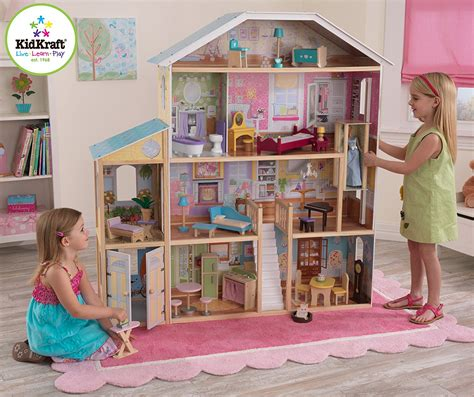 tall barbie doll house large dollhouses for barbie size dolls