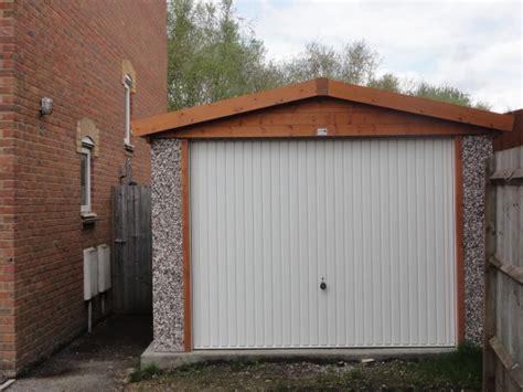 sectional buildings uk case studies concrete garage as a home gym
