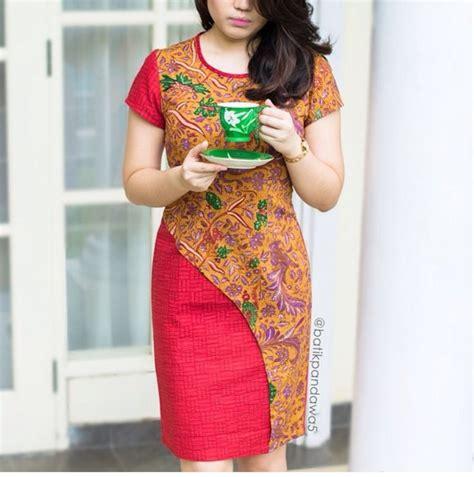 Tunik Atasan Wanita Blouse Etnic Muslimah Motif Batik A070 batik indonesia batik and indonesia
