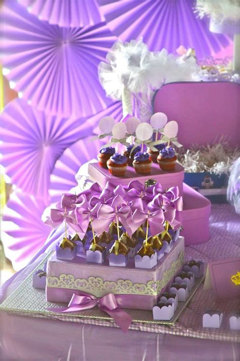 Sofia The First Birthday Giveaways - purple princess sofia the first birthday party