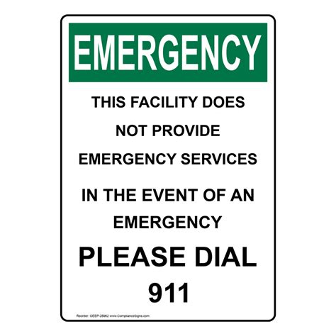 Emergency Contact Detox Facility by Portrait Osha This Facility Does Not Provide Sign Oeep 28962