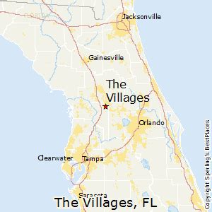 detailed map of the villages florida best places to live in the villages florida