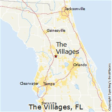 map of the villages florida best places to live in the villages florida