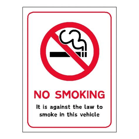 no smoking sign for vehicles prohibition signs lexique signs