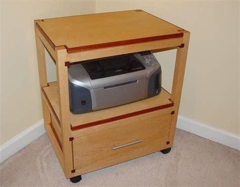 printer stand by jhawkinnc lumberjocks