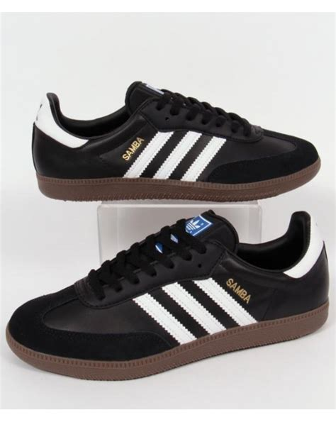 Kickers Gum Sole Black adidas samba trainers black white gum adidas samba