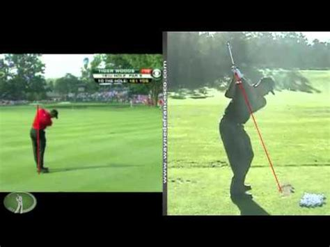 tiger woods swing change tiger woods swing change analysis 2011 vs 2010 how to