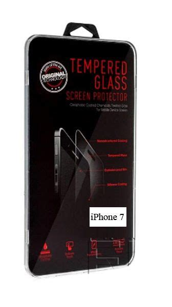 tempered glass screen protector guard  apple iphone