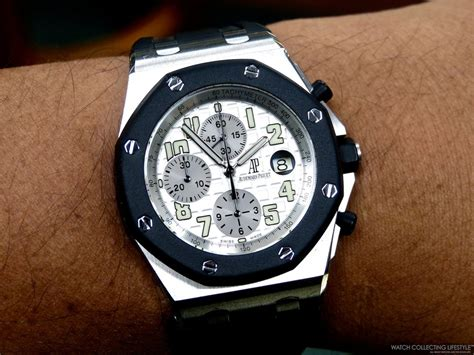Audemars Piguet Roo Silver White macros audemars piguet royal oak offshore rubber clad a treat to the collecting