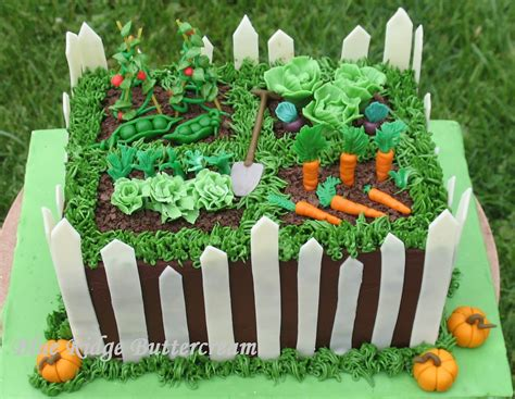 Vegetable Garden Cake Vegetable Garden Cake Blue Ridge Buttercream
