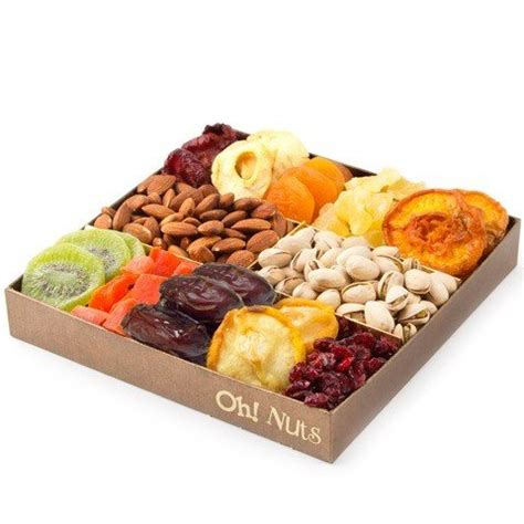 snacks for gifts nut and dried fruit gift tray healthy snack gift box