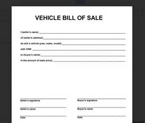 simple vehicle bill of sale template car bill of sale search results calendar 2015