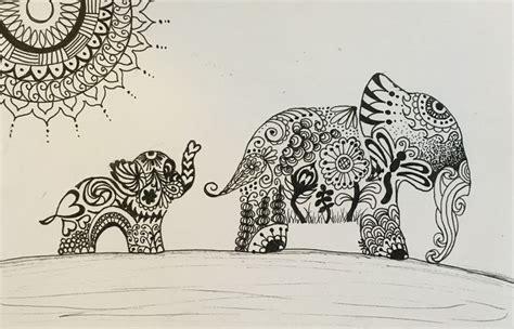 doodle stationery india 25 b 228 sta elephant doodle id 233 erna p 229 gulliga