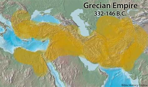 greek empire bible history