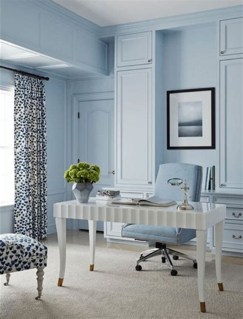 1000 ideas about blue home offices on gray